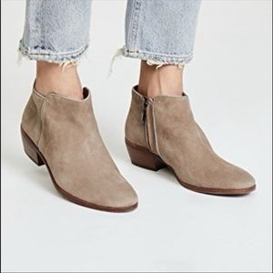 Sam Edelman Petty Ankle Booties Leather Suede Boho